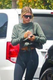 Sofia Richie - Leaving a friend's house in LA