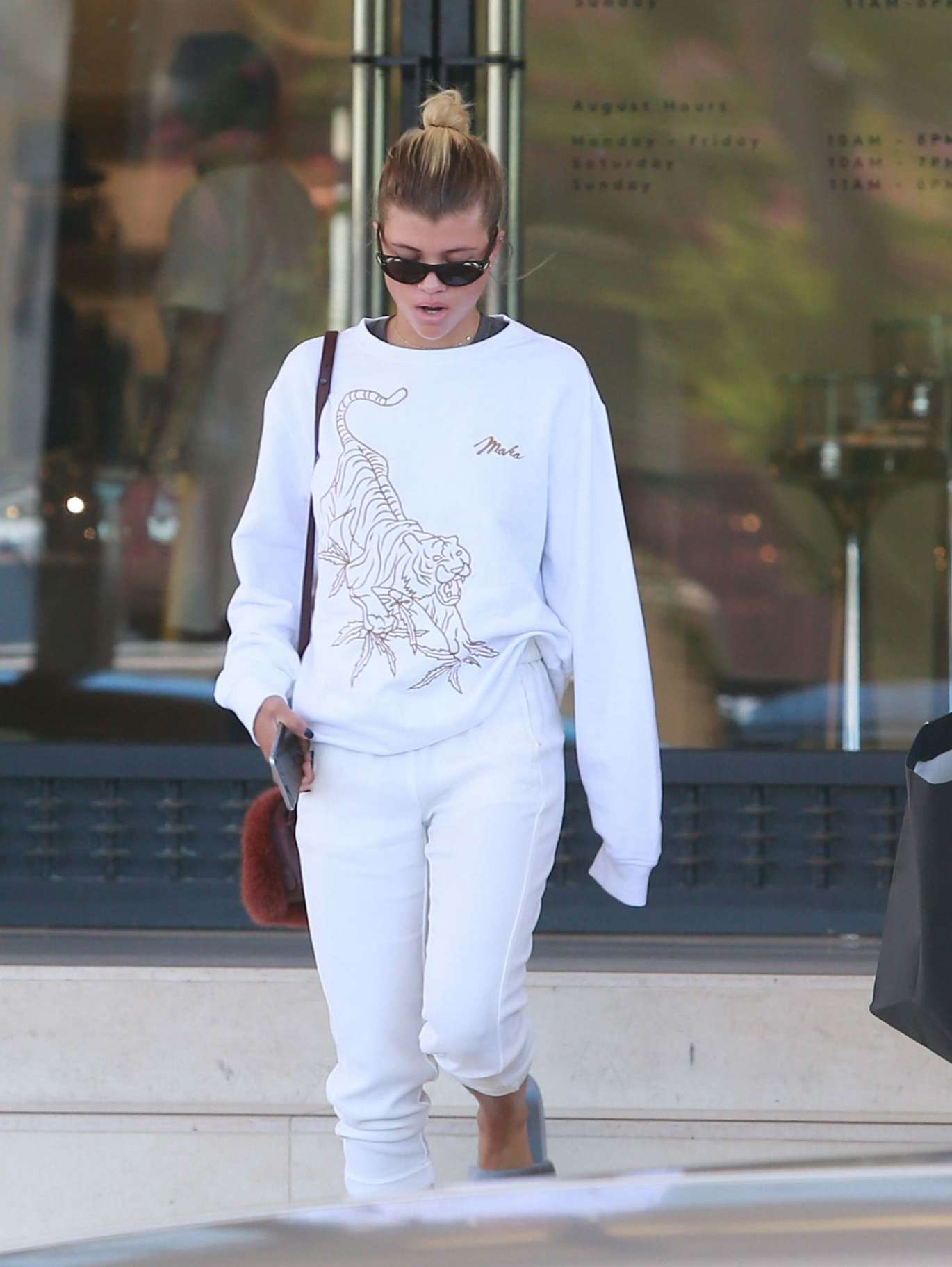 Sofia Richie - Leaving Barney's New York in Beverly Hills