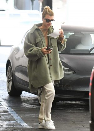Sofia Richie - Leaving dermatologist's office in Beverly Hills