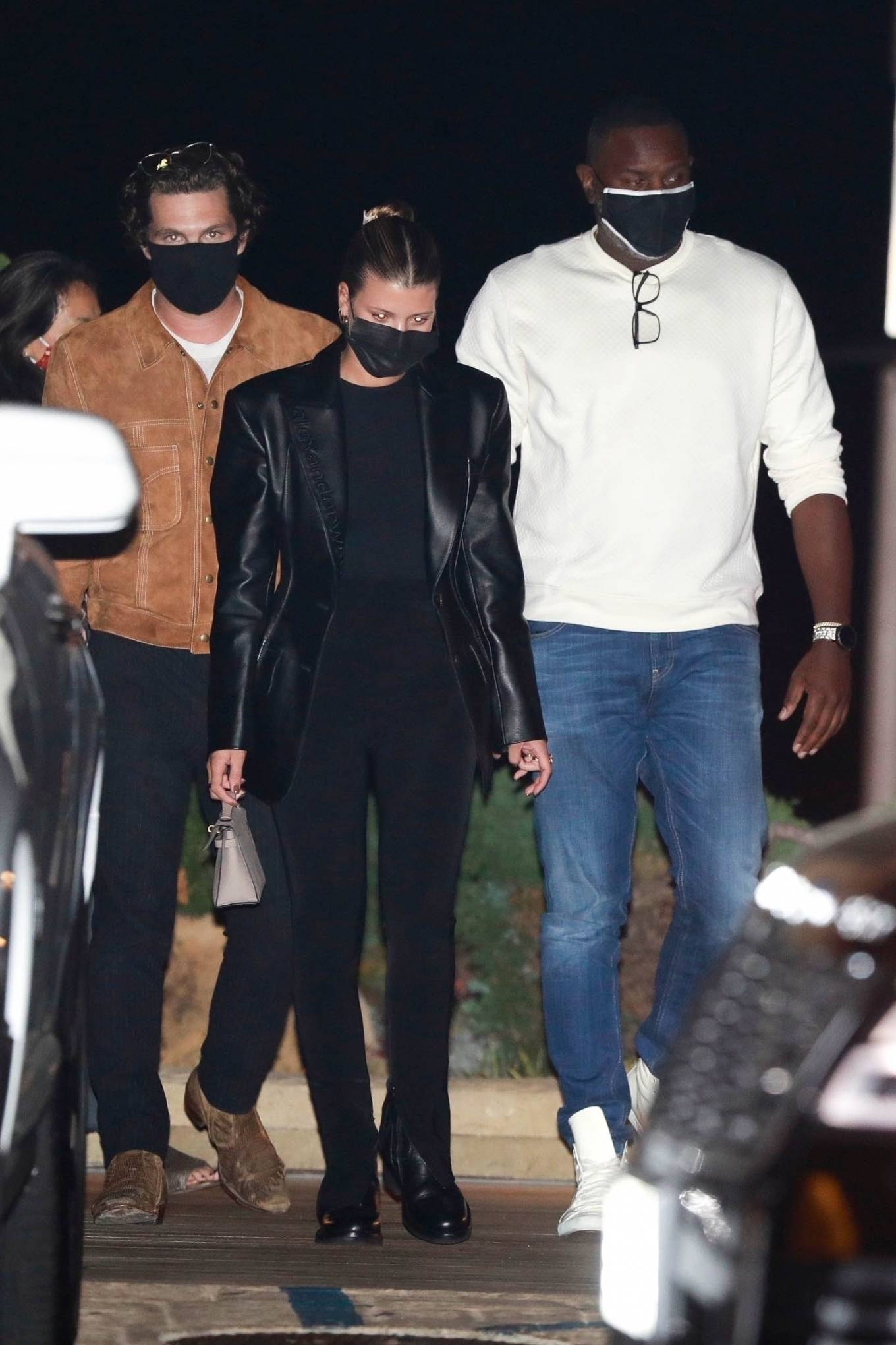 Sofia Richie - Leaving dinner at Nobu in Malibu