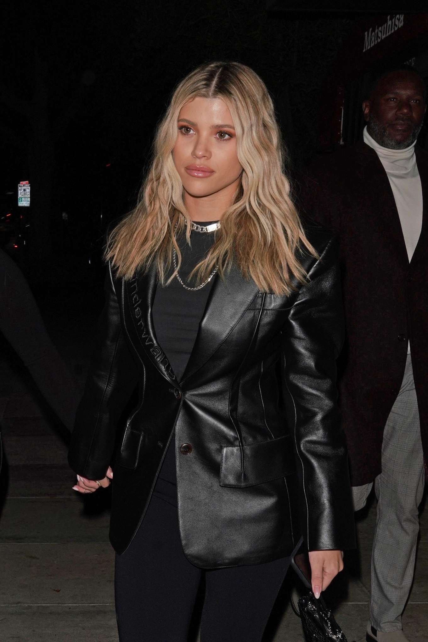 Sofia Richie - Leaving Matsuhisa restaurant in Beverly Hills