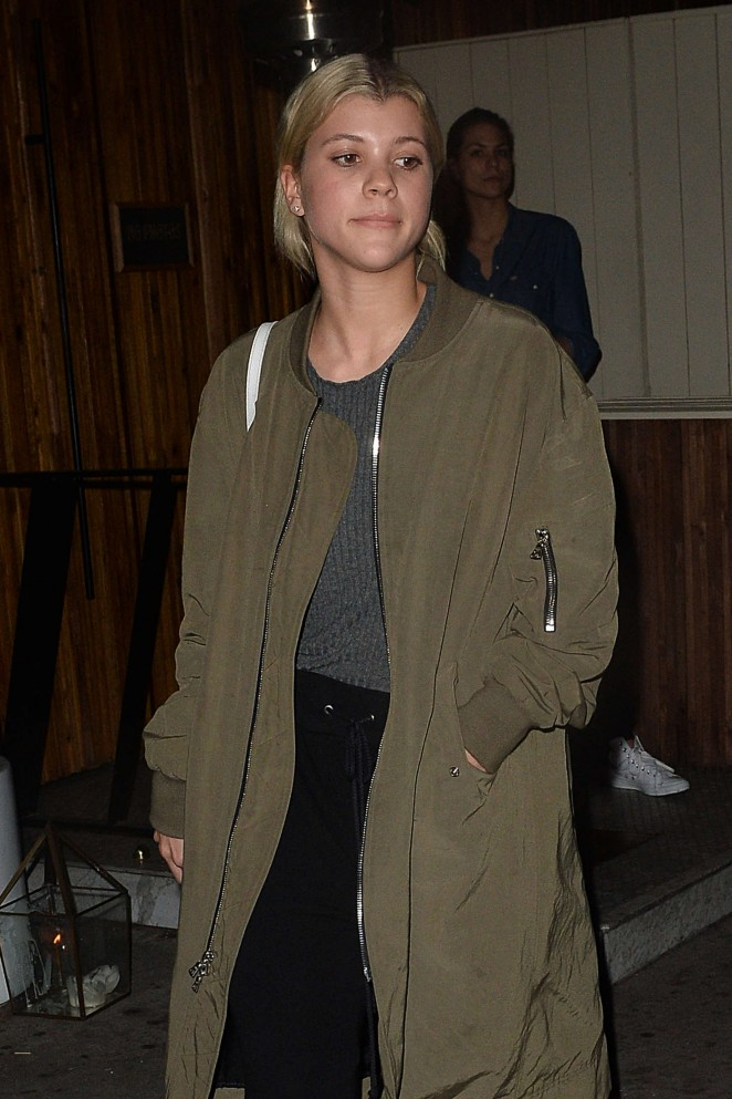 Sofia Richie - Leaving Nice Guy in Los Angeles