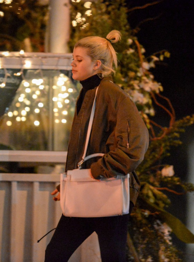 Sofia Richie Leaving The Roxy in West Hollywood