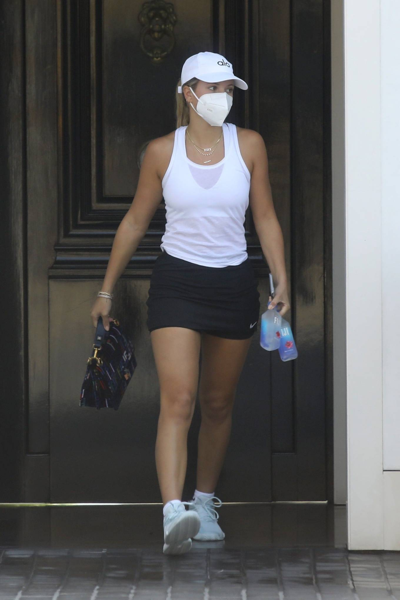 Sofia Richie 2020 : Sofia Richie – Looks sporty while out for some tennis class with a friend in Malibu-09