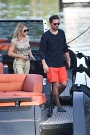 Sofia Richie on a boat trip in Miami