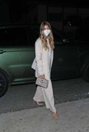 Sofia Richie - On a dinner date at Italian restaurant Giorgio Baldi in Santa Monica