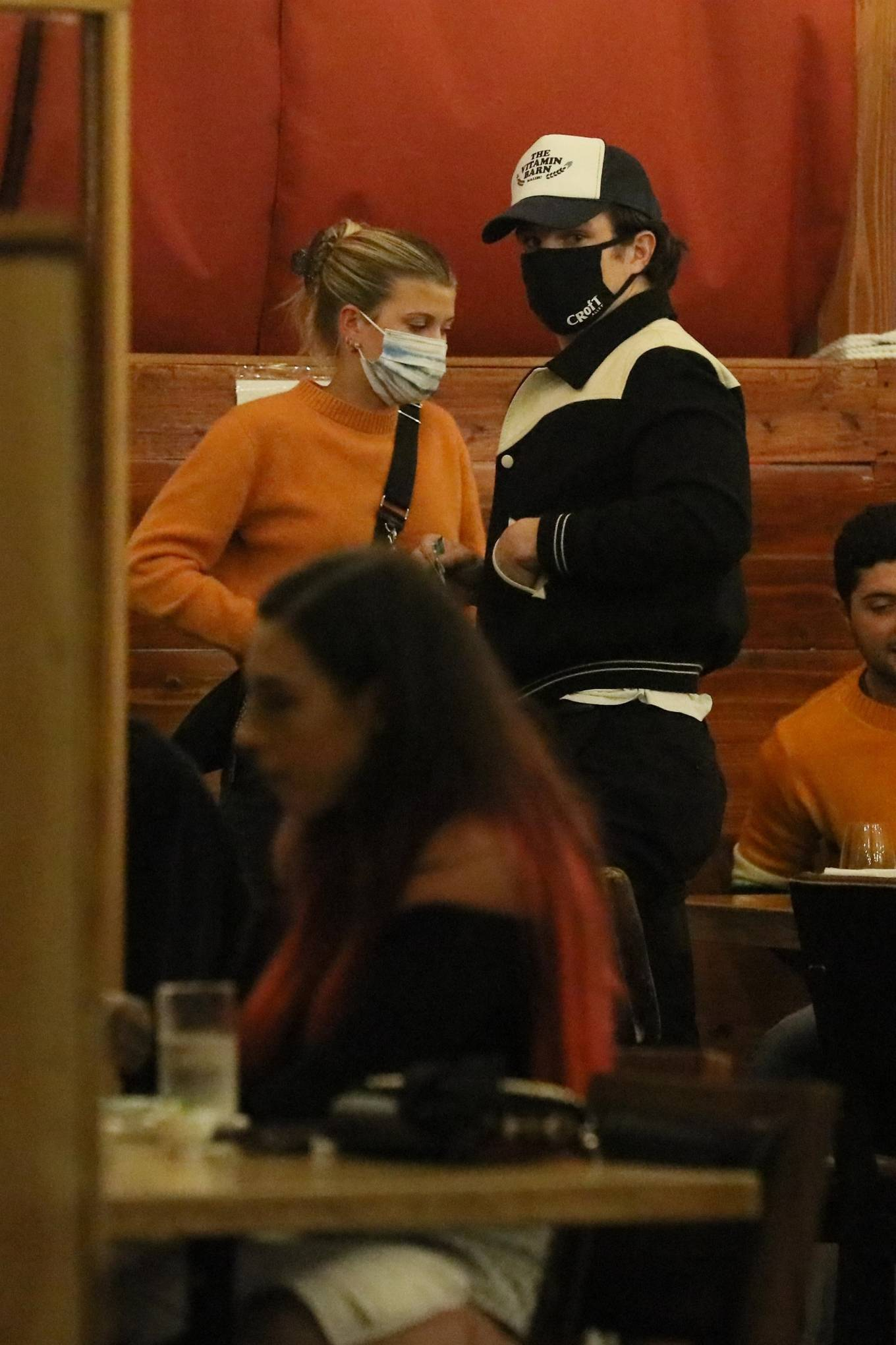 Sofia Richie - On a dinner date in Los Angeles