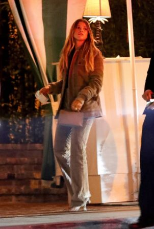 Sofia Richie - out for dinner at the San Vicente Bungalow in West Hollywood