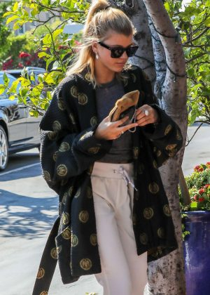 Sofia Richie out for lunch at Mauro's Cafe Fred Segal in West Hollywood
