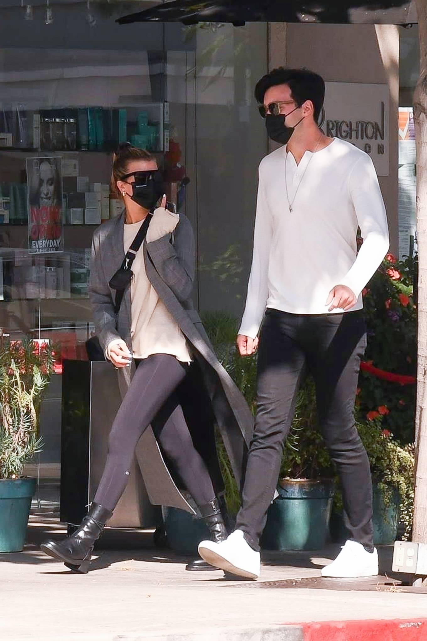 Sofia Richie - Out for lunch with new boyfriend in Beverly Hills