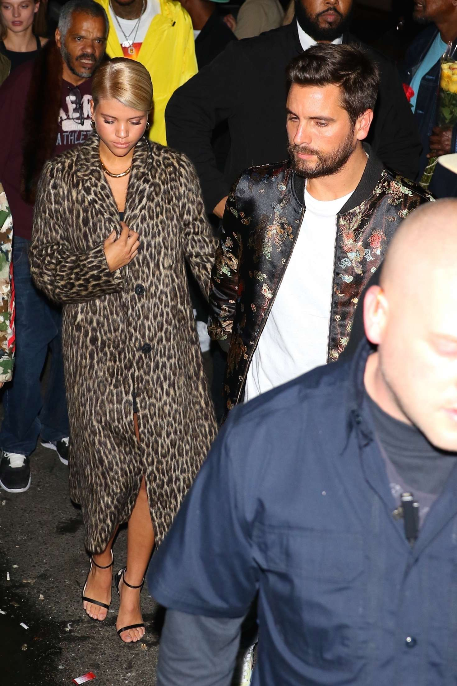 Sofia Richie out for the party in New York