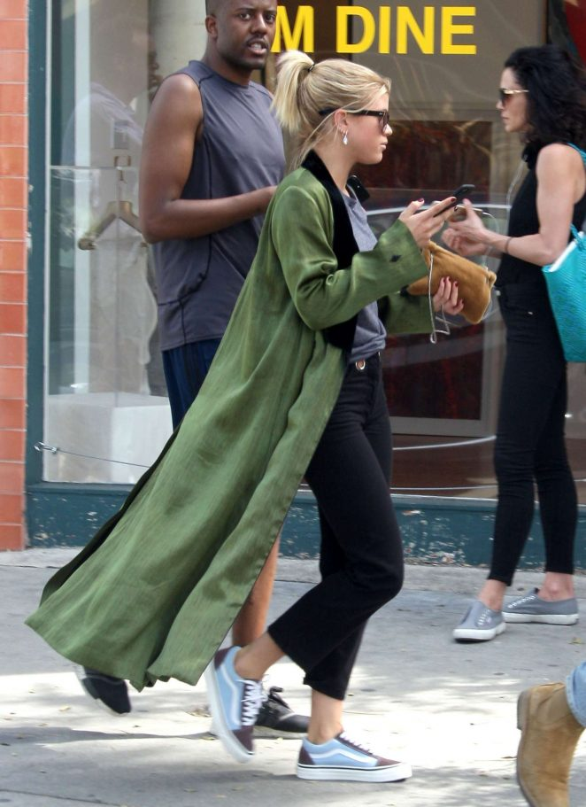 Sofia Richie out shopping in West Hollywood