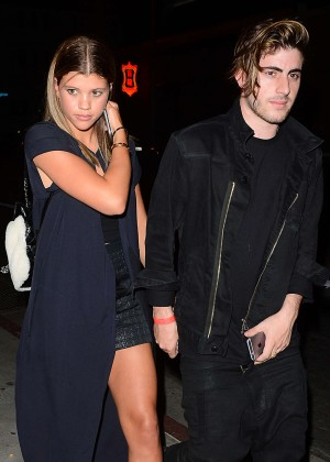 Sofia Richie - Outside Bootsy Bellows