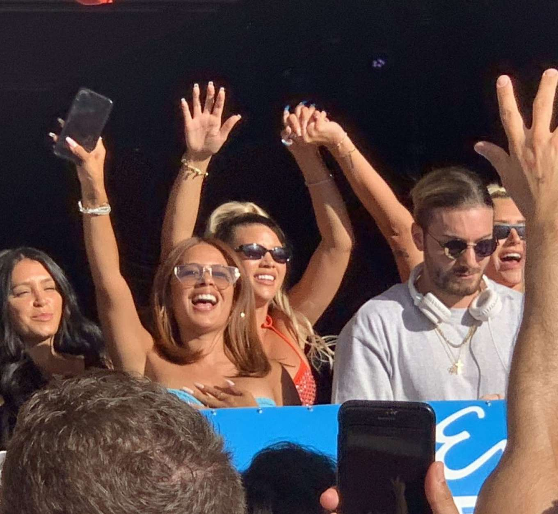 Sofia Richie 2019 : Sofia Richie parties in the encore Beach club close to DJ Alesso in Las Vegas-08
