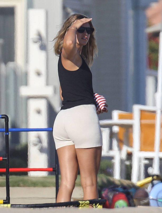 Sofia Richie - Pictured at the beach in Malibu - California