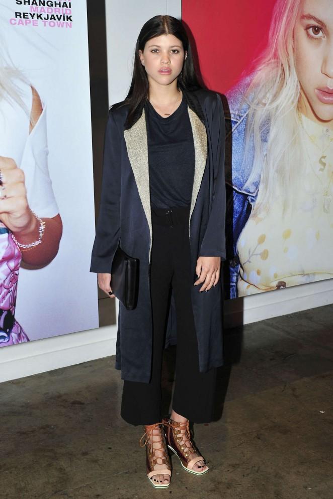 Sofia Richie - POPULAR Launch Party in LA