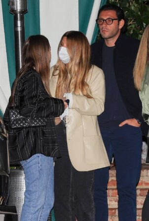Sofia Richie - Seen at San Vicente Bungalows in West Hollywood