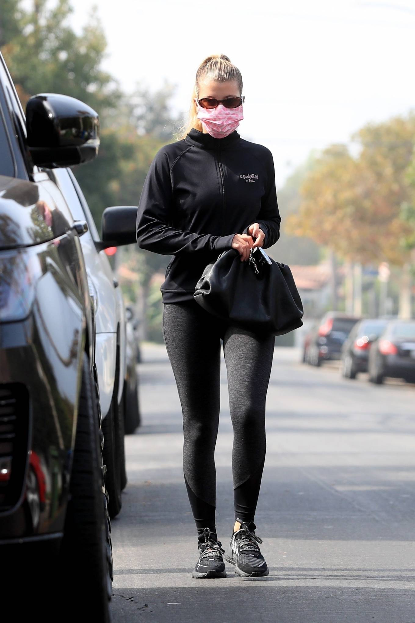 Sofia Richie 2020 : Sofia Richie – Seen leaving a yoga class in West Hollywood-01