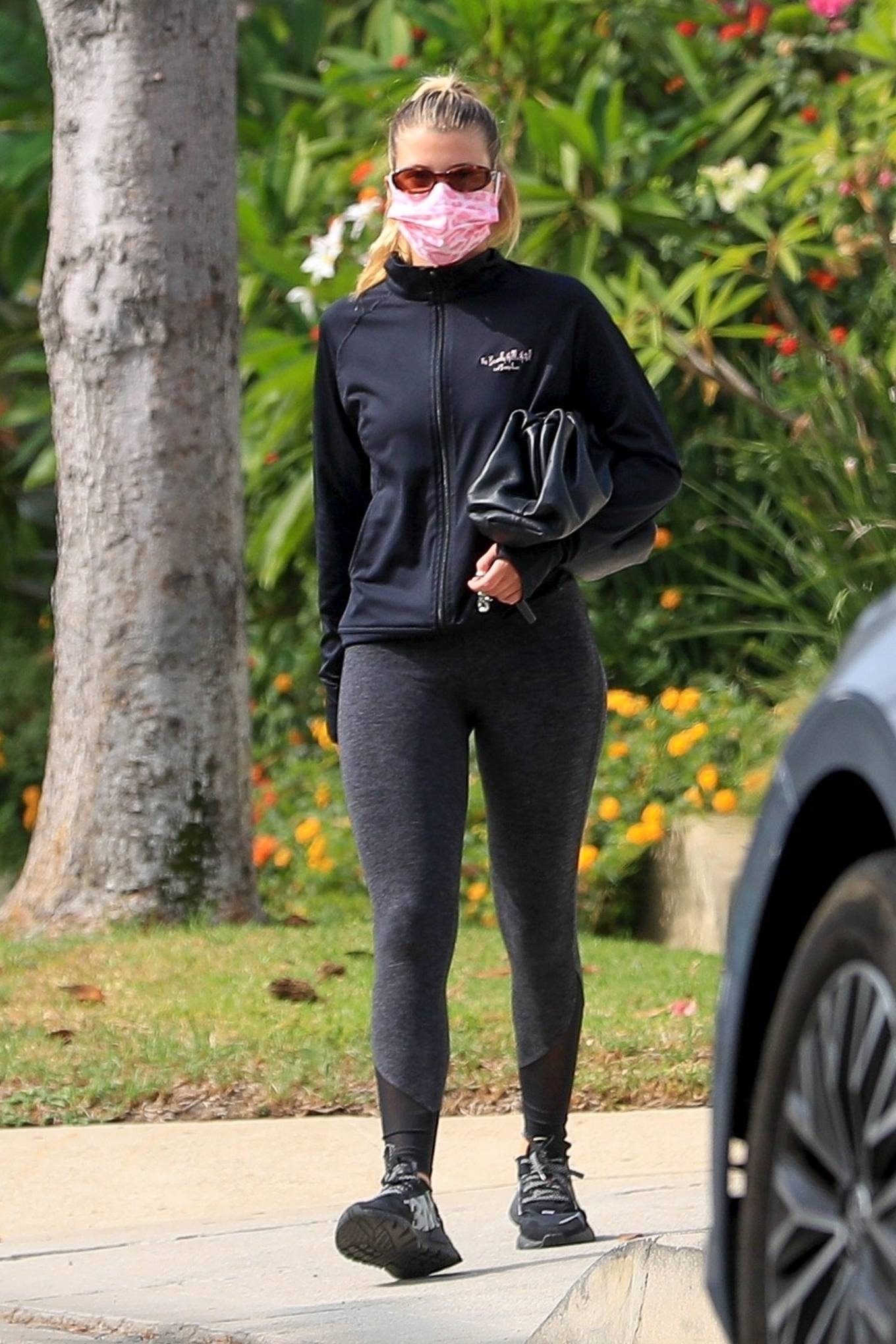 Sofia Richie 2020 : Sofia Richie – Seen leaving a yoga class in West Hollywood-09