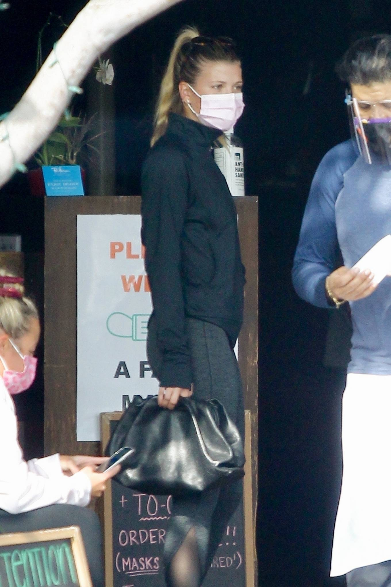 Sofia Richie 2020 : Sofia Richie – Seen leaving a yoga class in West Hollywood-15