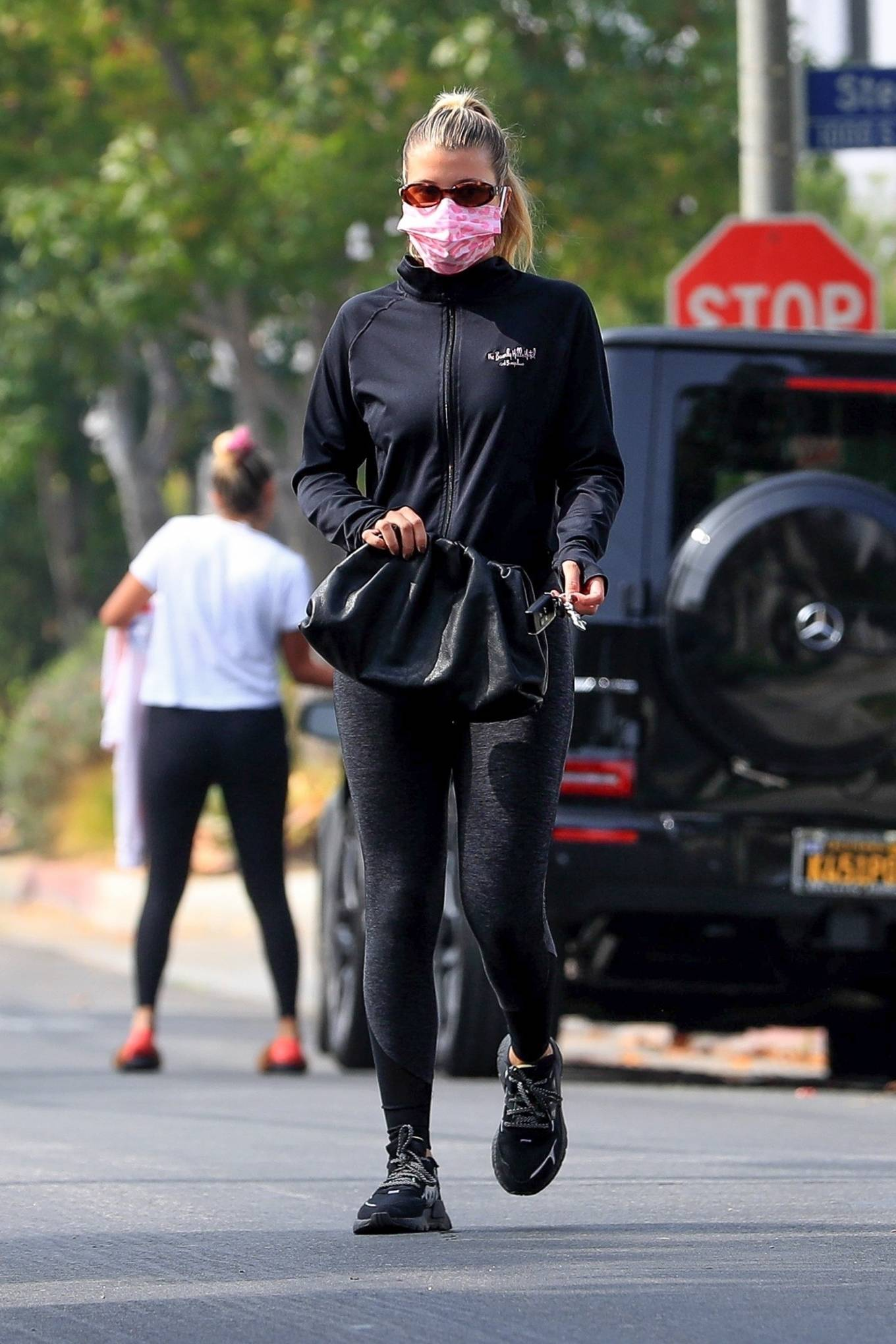 Sofia Richie 2020 : Sofia Richie – Seen leaving a yoga class in West Hollywood-17