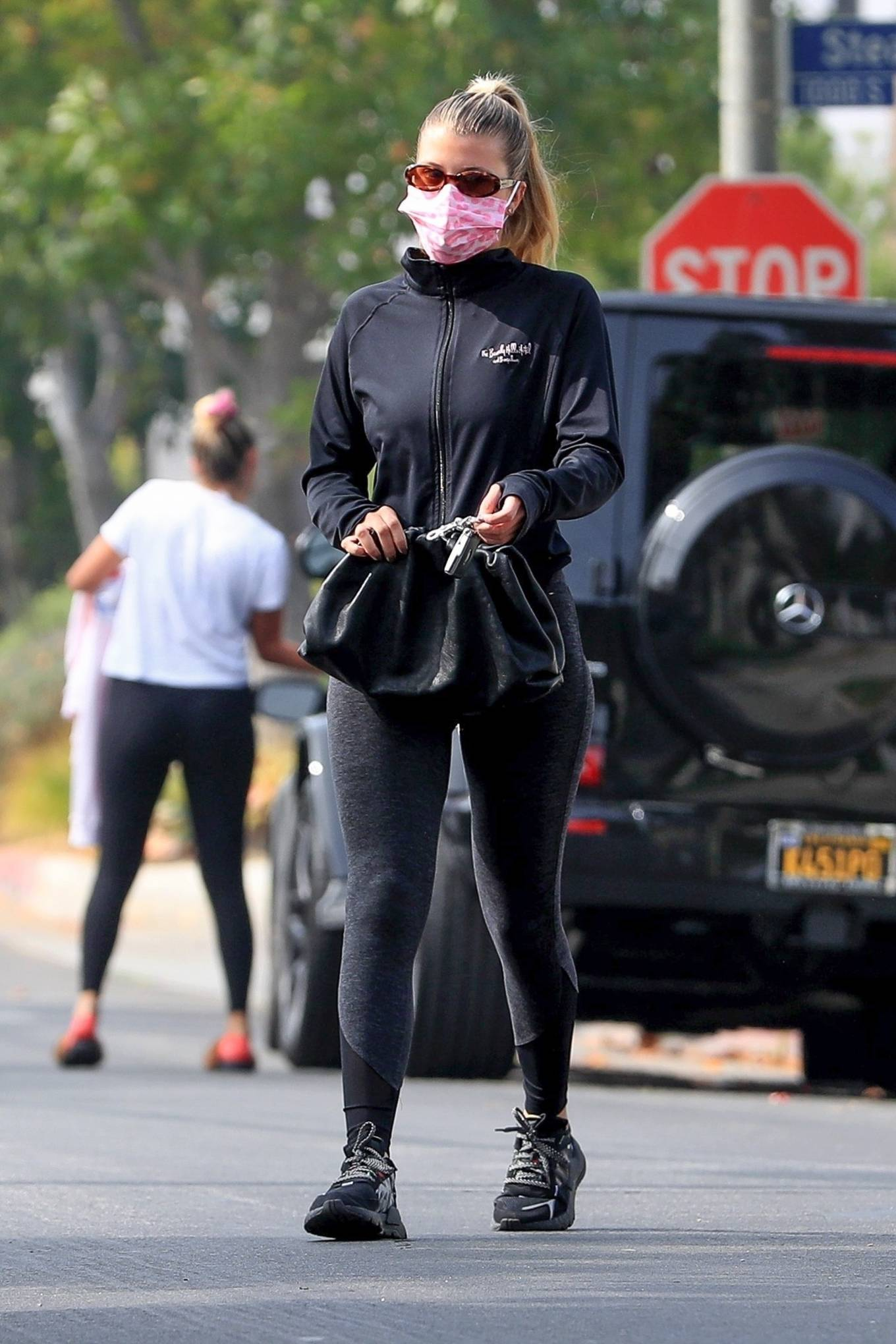 Sofia Richie 2020 : Sofia Richie – Seen leaving a yoga class in West Hollywood-20