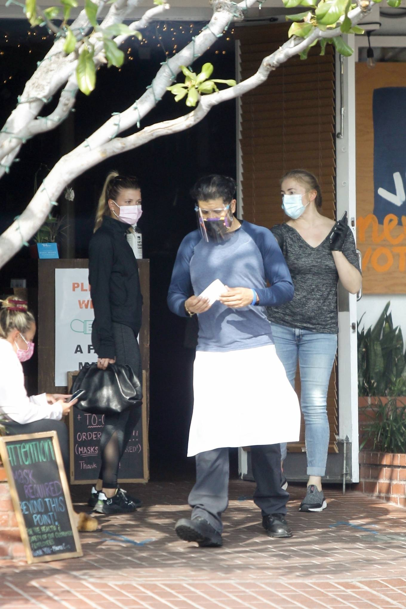Sofia Richie 2020 : Sofia Richie – Seen leaving a yoga class in West Hollywood-40