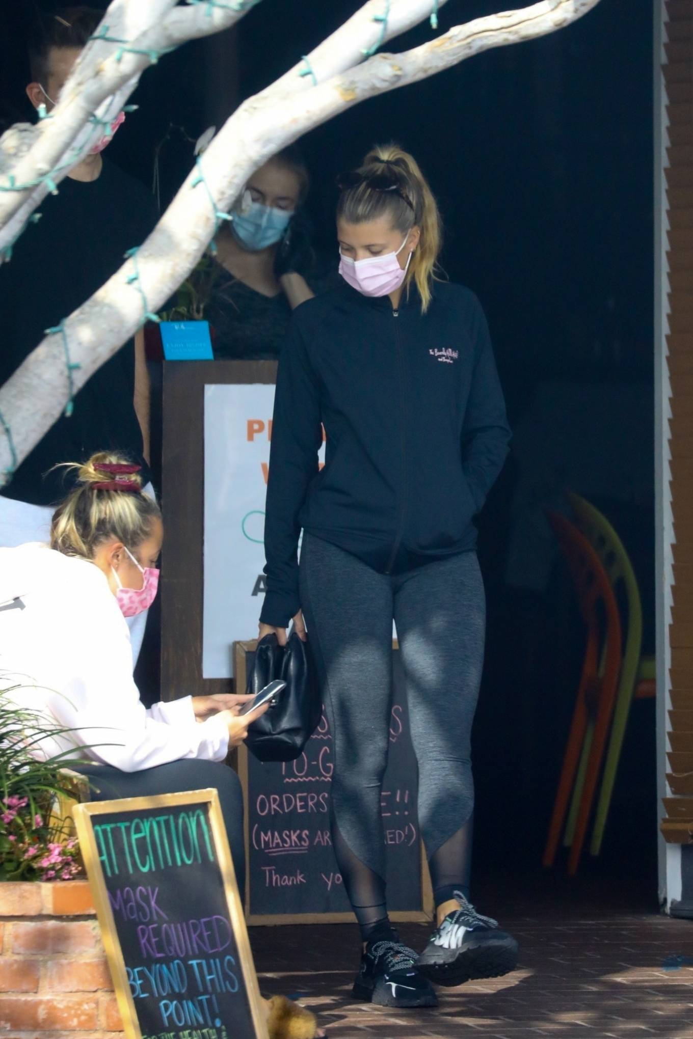 Sofia Richie 2020 : Sofia Richie – Seen leaving a yoga class in West Hollywood-43
