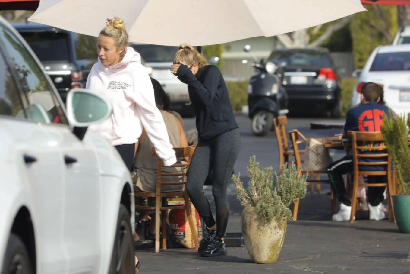 Sofia Richie 2020 : Sofia Richie – Seen leaving a yoga class in West Hollywood-46