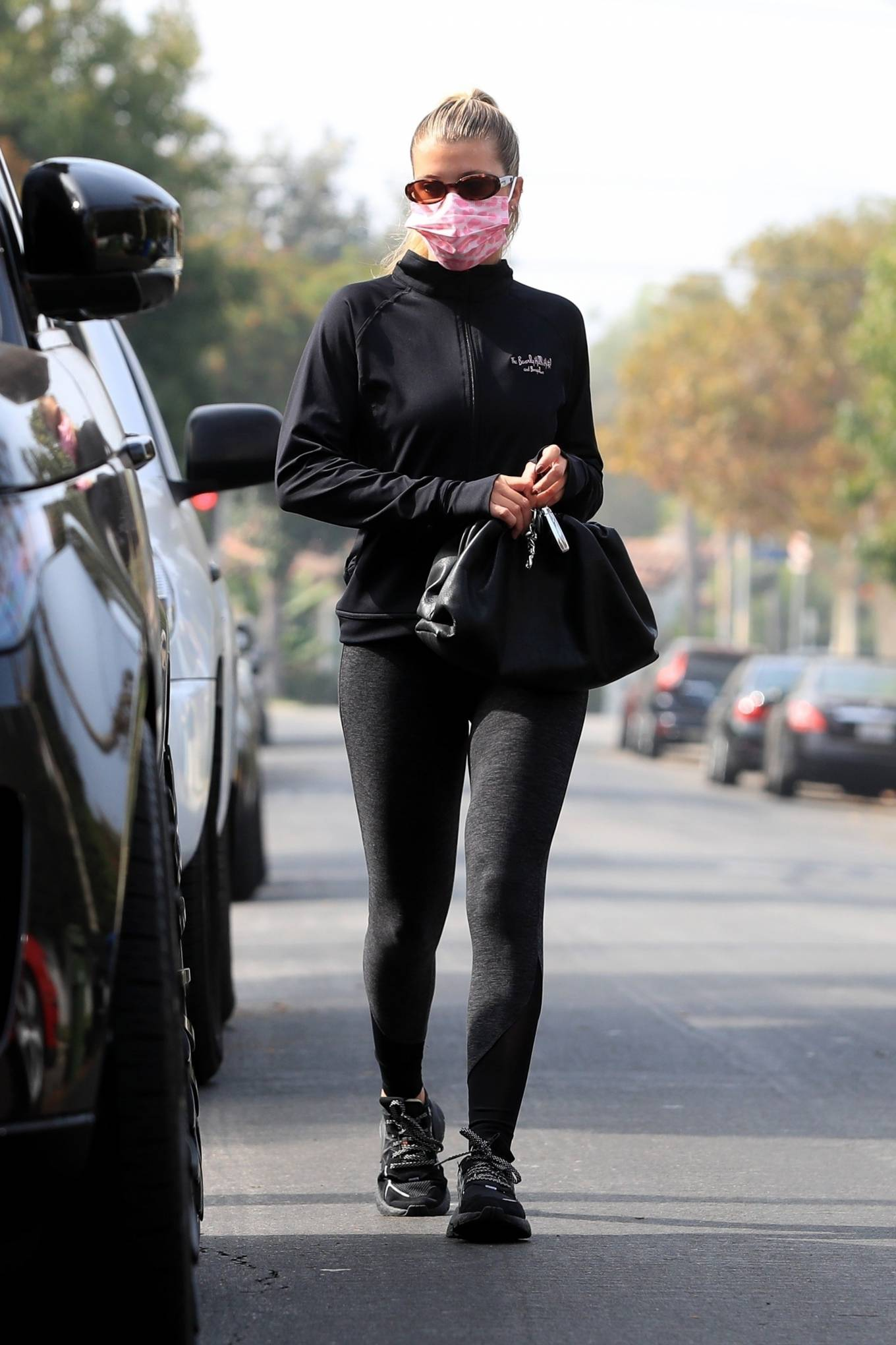 Sofia Richie 2020 : Sofia Richie – Seen leaving a yoga class in West Hollywood-57