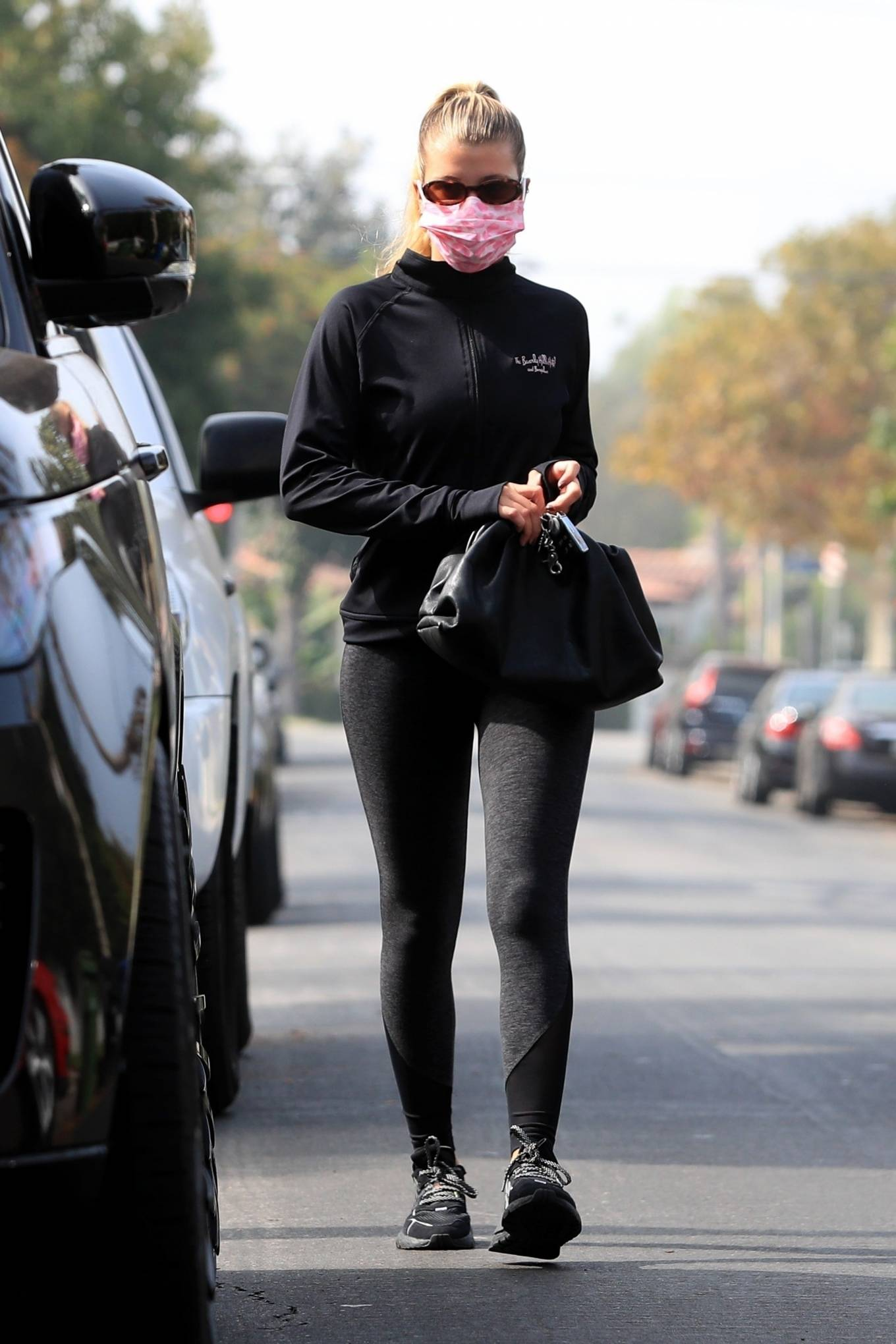 Sofia Richie 2020 : Sofia Richie – Seen leaving a yoga class in West Hollywood-64
