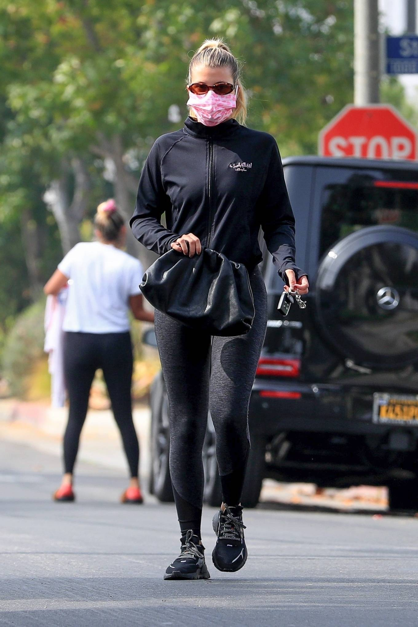 Sofia Richie 2020 : Sofia Richie – Seen leaving a yoga class in West Hollywood-66
