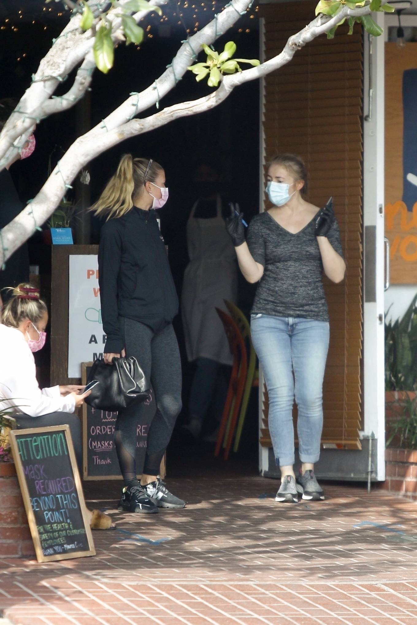 Sofia Richie 2020 : Sofia Richie – Seen leaving a yoga class in West Hollywood-67