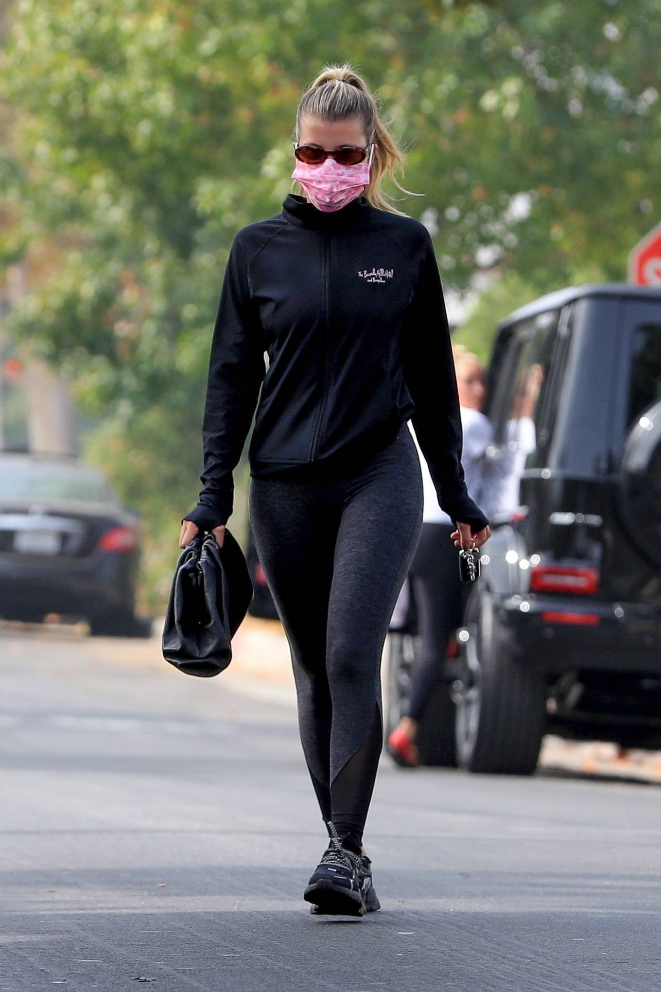 Sofia Richie 2020 : Sofia Richie – Seen leaving a yoga class in West Hollywood-68