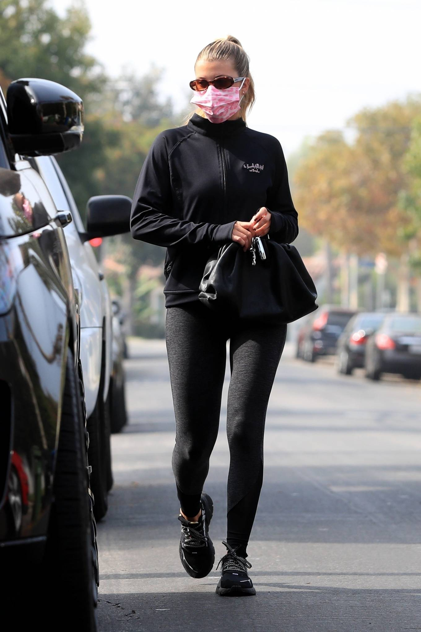 Sofia Richie 2020 : Sofia Richie – Seen leaving a yoga class in West Hollywood-69
