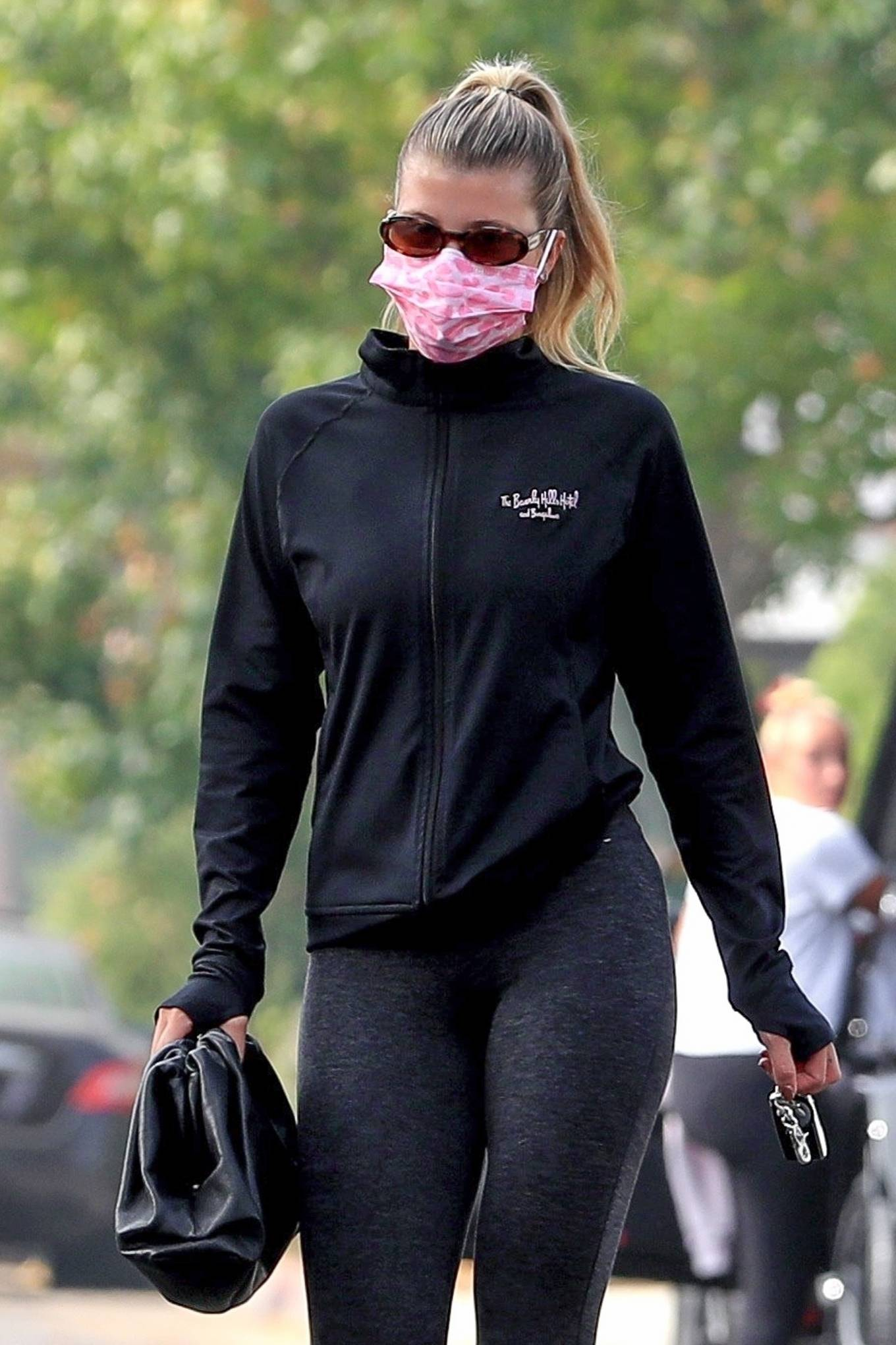 Sofia Richie 2020 : Sofia Richie – Seen leaving a yoga class in West Hollywood-74