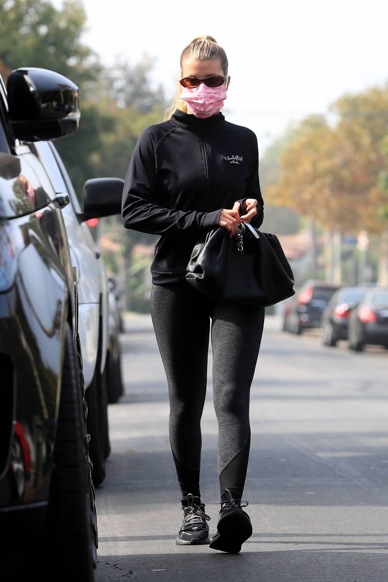 Sofia Richie 2020 : Sofia Richie – Seen leaving a yoga class in West Hollywood-76