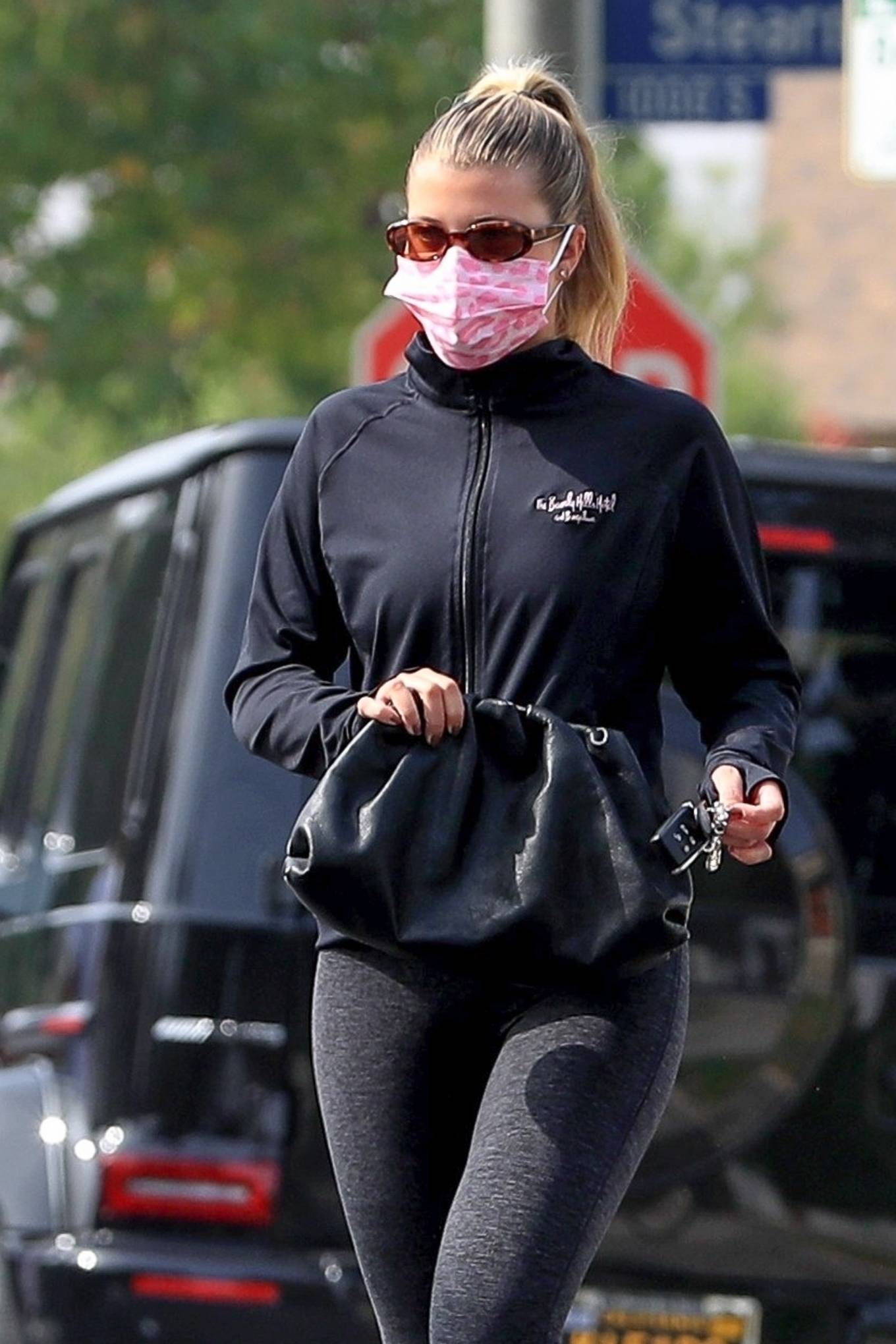Sofia Richie 2020 : Sofia Richie – Seen leaving a yoga class in West Hollywood-78