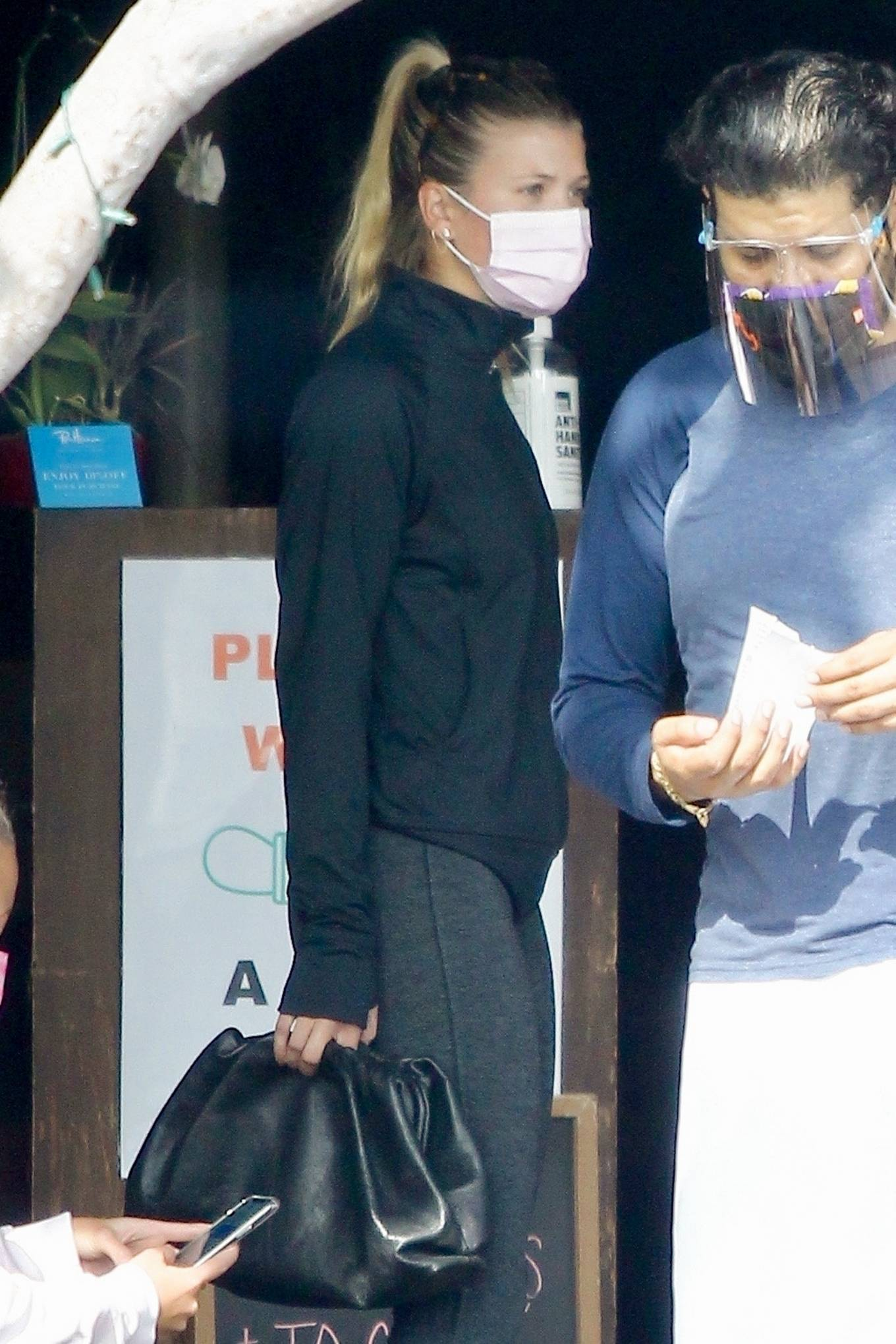 Sofia Richie 2020 : Sofia Richie – Seen leaving a yoga class in West Hollywood-82