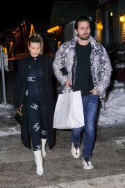 Sofia Richie - Seen while out in Aspen with Scott Disick