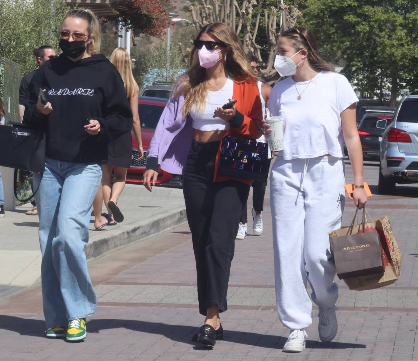 Sofia Richie - Seen with a Fendi purse while out shopping in Malibu