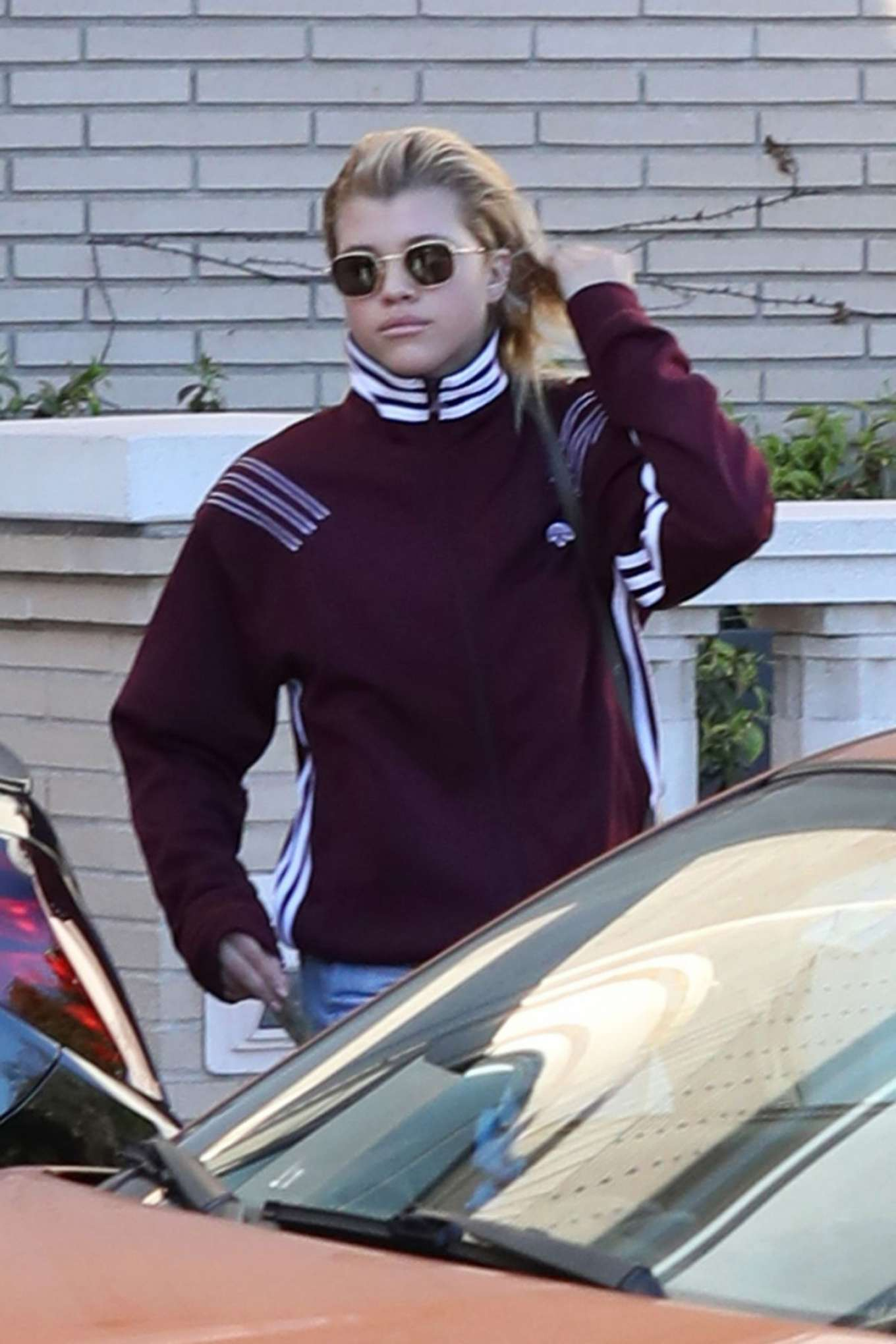 Sofia Richie Shopping at Barney New York in Beverly Hills