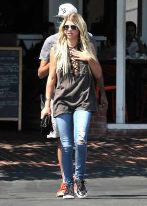 Sofia Richie Shopping at Fred Segal in Los Angeles
