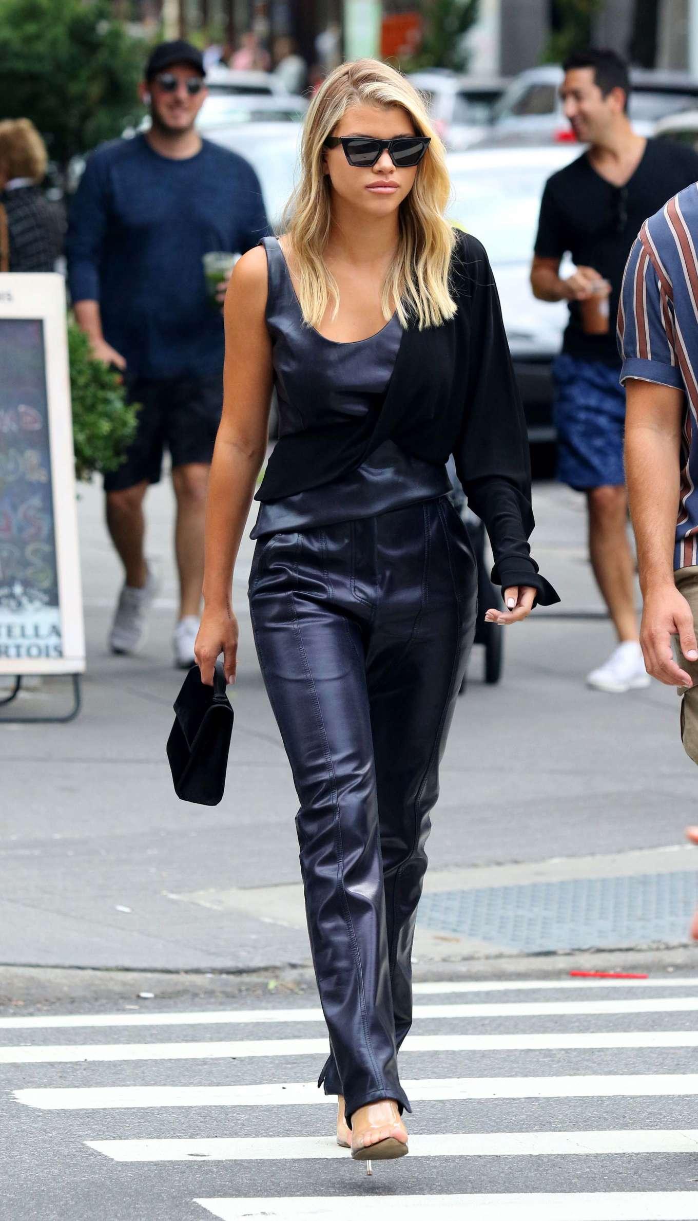 Sofia Richie - Shopping in Manhattan's Soho area in New York
