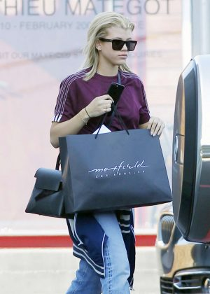 Sofia Richie shopping out in West Hollywood