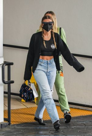 Sofia Richie - Shows off her abs while out in Beverly Hills