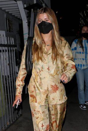 Sofia Richie - Spotted leaving Giorgio Baldi Restaurant in Santa Monica