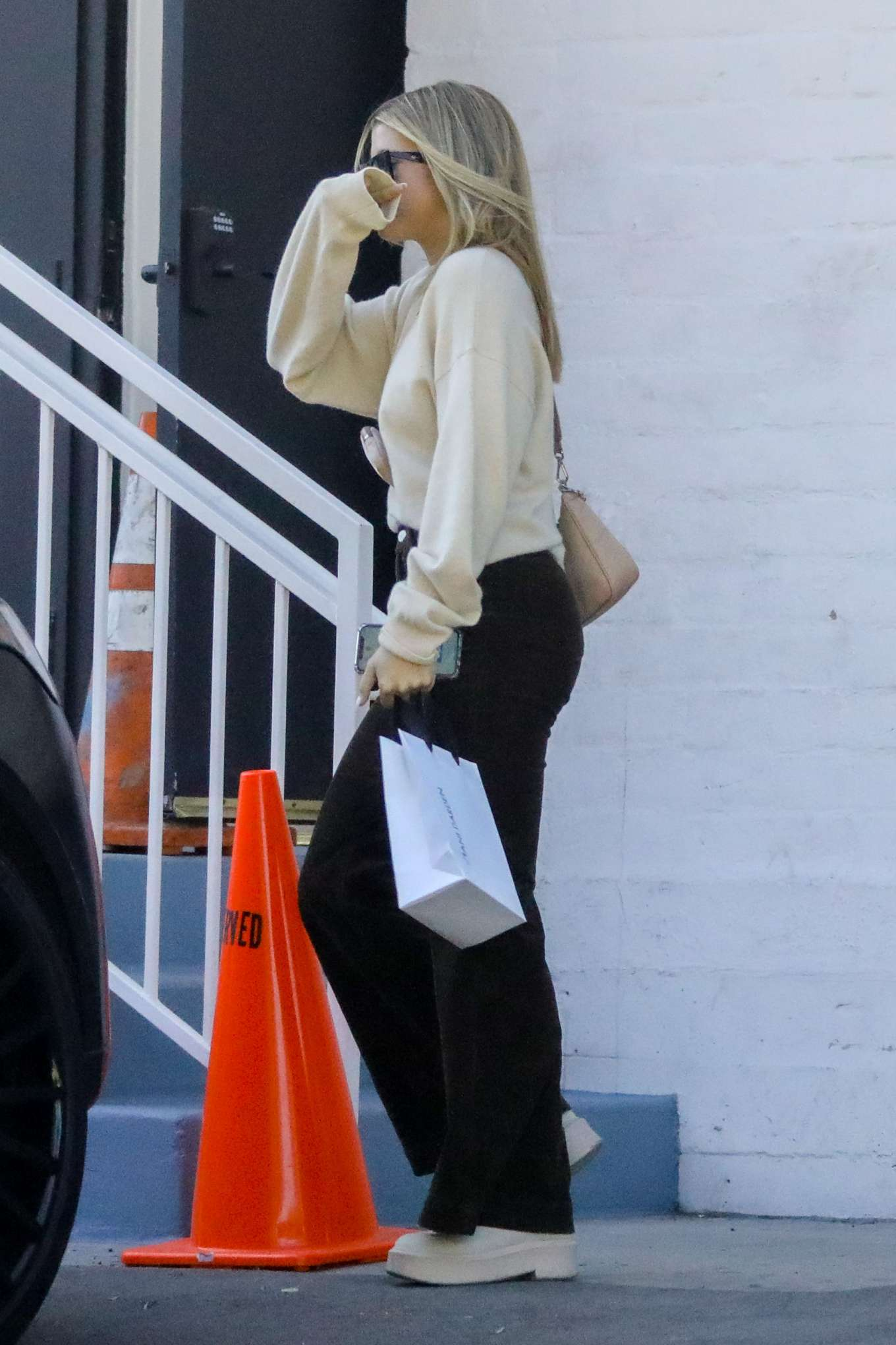 Sofia Richie 2020 : Sofia Richie – Spotted while out and about in Beverly Hills-11
