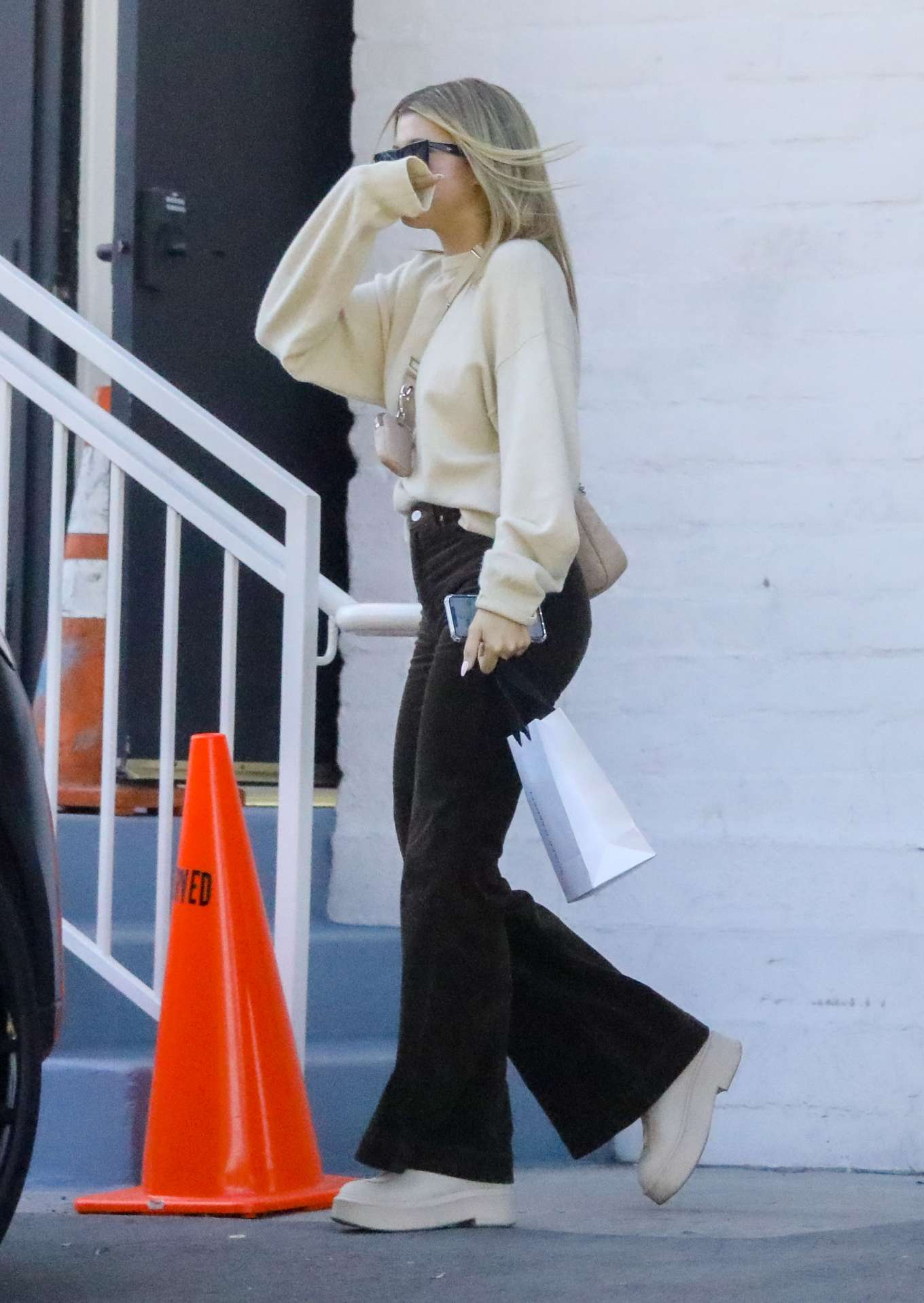 Sofia Richie 2020 : Sofia Richie – Spotted while out and about in Beverly Hills-13
