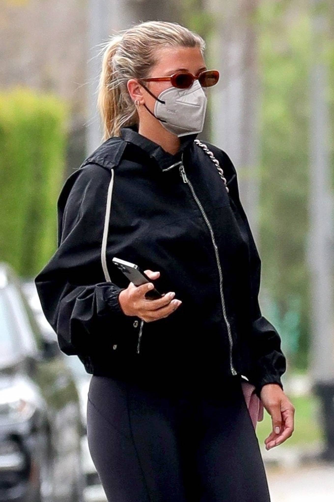 Sofia Richie 2021 : Sofia Richie – Steps out for a gym in West Hollywood-13
